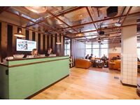 Serviced office space / desk rental in WATERHOUSE SQUARE HOLBORN LONDON- On-site Cafe - Hub culture