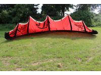 Kitesurfing Kite North Rebel 12m / kitesurfing set