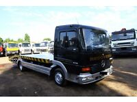 2000 MERCEDES ATEGO 815 4X2 RECOVERY TRUCK WITH WINCH AND RAMPS DAF RECOVERY TIPPER FOR SALE IN LOND