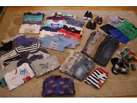Huge Bundle Of Boys Clothes And Shoes (From 12 Months to 3 Years)