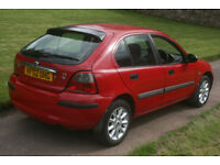 02 ROVER 25, 1.4, 5DR, LONG MOT, P/X BARGAIN, FREE WARRANTY