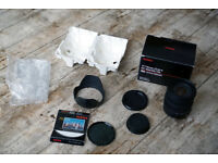 Sigma 17-70 OS - Canon fit bundle with ND4 filter , caps @ boxed