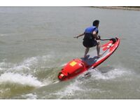 New Jet Surfboard 4 Stroke 125CC 40km/h Jet Power Wakeboard £2990 or Swap