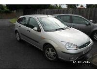 2003 (52) Ford Focus 1.6 Zetec