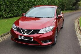 2016 Nissan Pulsar 1.5 dCi Visia 5dr ONLY 1890 MILES (Toyota audi citroen honda damaged repairable)