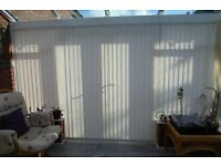 Vertical Conservatory Blinds For Sale --- Price reduced