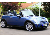 Mini Cooper S Convertible with lots of extras