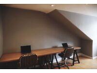 Desk Space & Small Studio available in City Centre