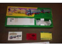 CORGI 1/50 SCALE SHOWMANS CROW'S FUN FAIR ATKINSON FLATBED WITH TRAILER & LOAD MINT & BOXED.