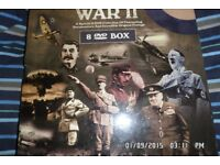 world war 2 dvd album used but in new contion