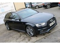 2013 AUDI A4 2.0 TDI S LINE 134BHP AVANT *BLACK EDITION SPEC* (FINANCE & WARRANTY)