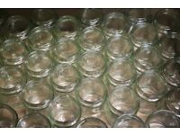 Jam/Chutney High Quality GLASS JARS (new and boxed approx 250 in total)