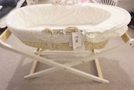 Teddy's Toy Box Moses Basket