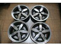 4 Beautiful + Rare Polished alloy wheels