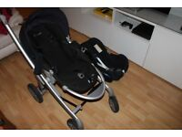 MAXI COSI PUSHCHAIR & NEW BORN BABY SEAT