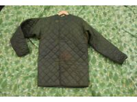 Vintage British RAF / Army Quilted Cold Weather Smock Liner