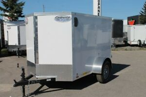 2019 CONTINENTAL CARGO VHW 5x8 Enclosed Trailer