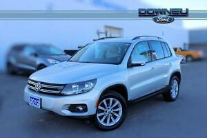 2012 Volkswagen Tiguan HIGHLINE/ WINTER TIRES/LEATHER/ SUNROOF/L
