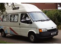 RELIABLE FORD TRANSIT 1992 LWB - HIGH TOP 2.5D 37700 miles
