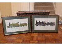 2 Train Prints
