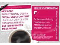 Freelance graphic design, copywriting, logo design and video editor
