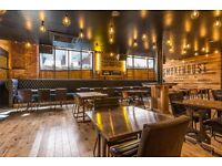 Full/Part time waiting staff required for Manchester Smokehouse
