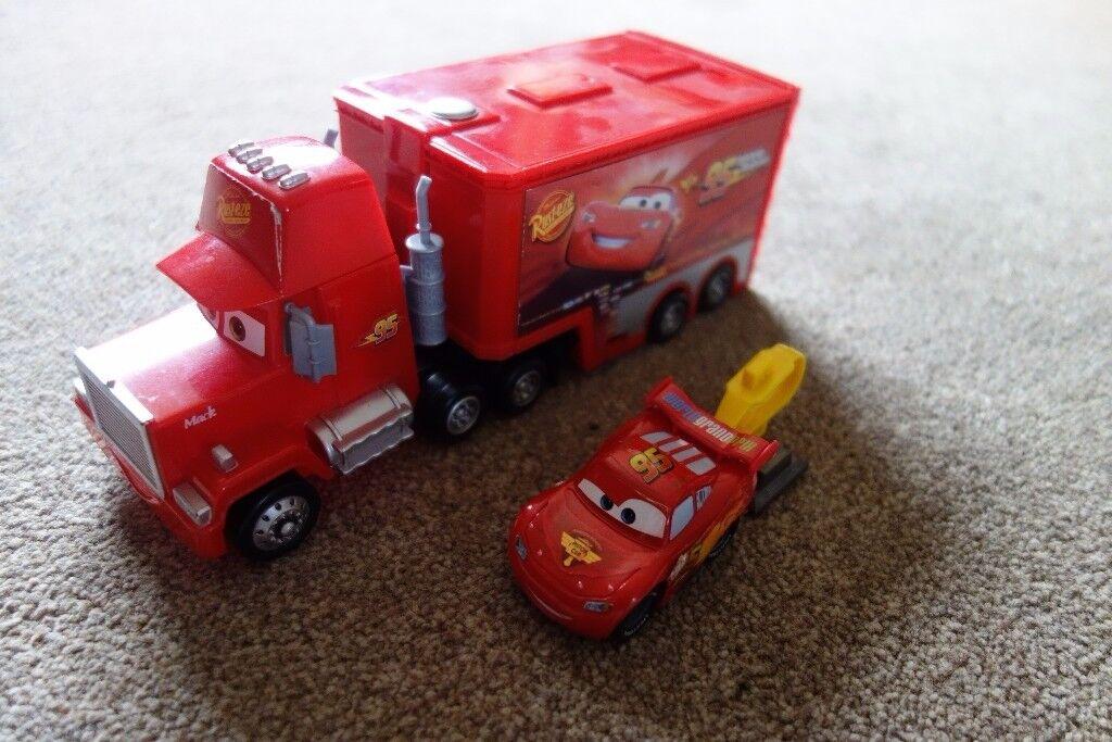 Cars - Mack spy truck