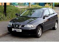 SEAT IBIZA 1.2 CHAIN DRIVEN. 5DOOR. 2004 BLACK