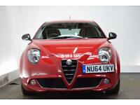 ALFA ROMEO MITO 1.4 TB MULTIAIR QV LINE TCT 3d AUTO 140 BHP (red) 2014