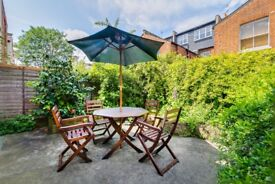 Charming 1 bed garden flat in Fulham - £375pw!