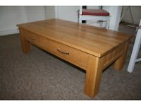 Lovely oak coffee table
