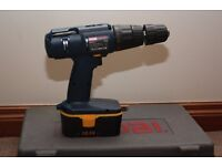 Ryobi CID-1802P Cordless Hammer Drill c/w Charger all working