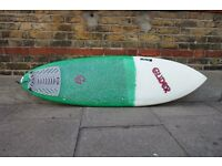 Epoxy Surfboard Great Condition (5'8, 20, 2 1/2 )