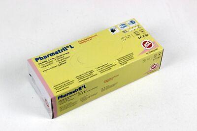KCL Pharmatril L Guantes de Protección Desechables Nitrilhandschuh Tamaño XL