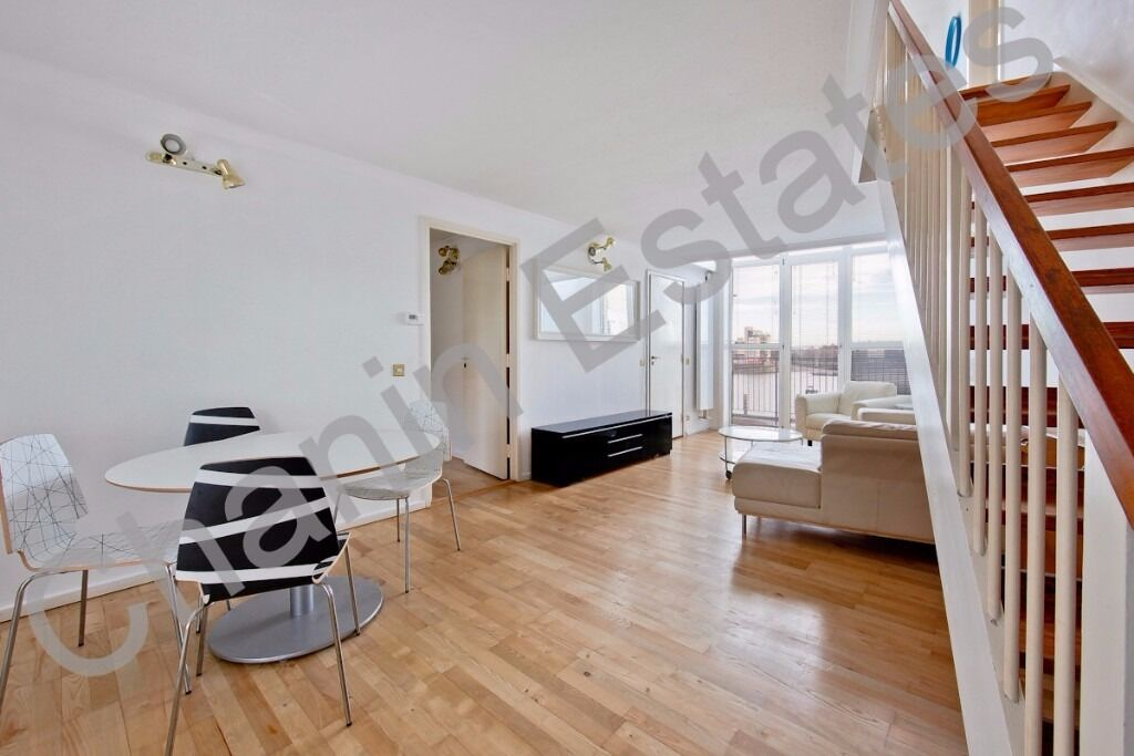 Incredible two bed two bath luxury apartment with direct river views in popular Development. £440 pw