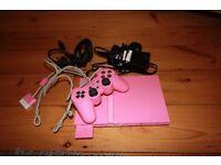 Limited Edition slim Pink Mini Sony PlayStation 2