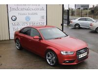 LATE 2013 AUDI A4 2.0 TDI 134 BHP SE TECHNIK 4DR SALOON !!BLACK EDITION SPEC!!(FINANCE AVAILABLE)