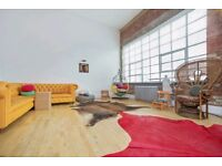 BEAUTIFUL LARGE 2BED WAREHOUSE CONVERSION IN HEART OF SHOREDITCH! HIGH SPEC! EXPOSED BRICKWORK*FURN*