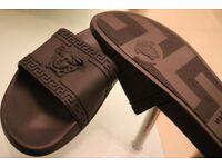 Versace slides slippers