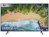 Samsung UE55NU7300 55-Inch Curved 4K Ultra HD Certified HDR Smart TV - Charcoal Black (2018 Model)