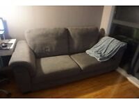Three Seat Sofa, needs to be picked up before 14/12. Pick up only.