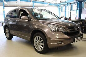 Honda CR-V I-DTEC EX [NAV / LEATHER / PANO ROOF] (ionized bronze metallic) 2012