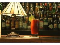 Fabulous experienced Bartenders required for relaunch of Iconic Theatre Restaurant