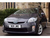 """2011 """"11"""" Toyota Prius T4 1.8 VVTi Auto - Genuine 72k Miles/FTSH - PCO 3 May 2017 - Uber - UK CAR"""