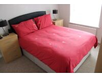 2 Drawer Double Divan Bed with Optional Mattress