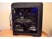 Gaming PC - i3 4130 - 8GB DDR3 - R9 270X OC- 128GB SSD - 500GB HDD - WIFI - NEW - UNDER WARRANTY