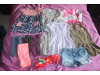 Girls 5-6 years bundle of clothes.