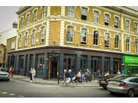 Sous Chef Wanted at The Defectors Weld pub in Shepherds Bush, London.
