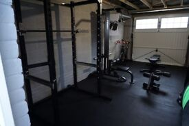 Personal Home Gym - Commercial Grade Equipment - £2600ovno - MUST SEE!!!