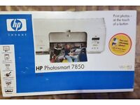 HP Photosmart 7850 Digital Photo Inkjet Printer new still sealed & boxed